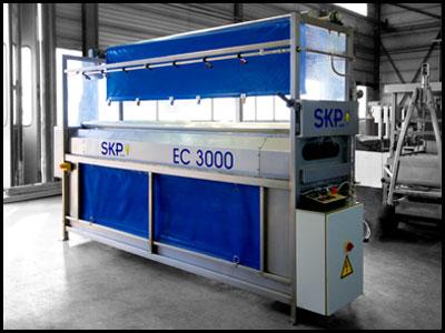 EC3000 - Planenwaschmaschine drei Meter