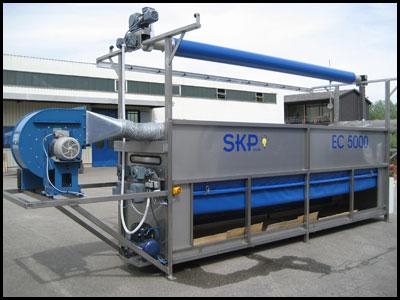 EC5000 - manuelle  Zeltreinigungsanlage