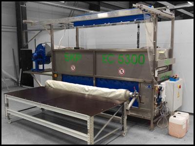 EC5300 - manuelle  Zeltreinigungsanlage