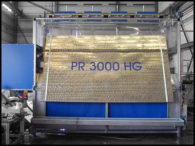 PR3000 - automatische Zeltreinigunsanlage