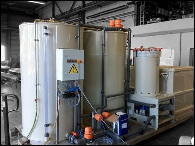 WK2000 - Wasseraufbereitung und Recycling
